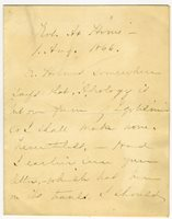 Feminist Anna Dickinson Refuses to Apologize ANNA ELIZABETH DICKINSON. Autograph Letter Signed, to A. Boyd. August 1, 1866. 2 pp.