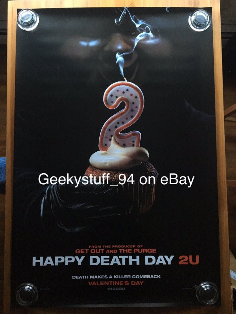 Happy Death Day 2U DS Theatrical Movie Poster 27x40