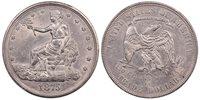 1875-CC T$1 Trade Dollar T1 / T2 Tall CC PCGS AU58
