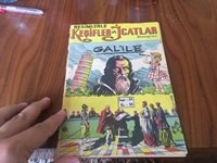 GALILEO GALILEI GRAPHIC NOVEL GREAT ART 1958 ! 4 pages SPARTACUS COMIC inside