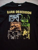 Barn Obsession ... 2009 Concert tour.... MED T SHIRT
