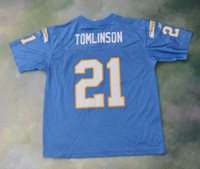 cheaper 02929 6a093 Reebok NFL San Diego Chargers LaDainian Tomlinson #21 Jersey Size Youth L  14-16.