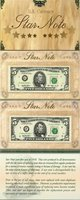 US Currency 1995 $5 Single Atlanta Star Note and a Series 1993 $5 Single Chicago Star Note with Matching Serial Numbers