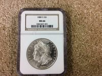 1880-S Morgan Dollar NGC MS66 inv#SL1433