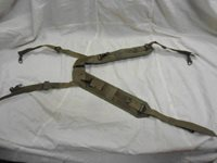 U.S. Military Nylon Field Pack Suspenders (dated 1968)