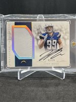 Joey Bosa National Treasures ROOKIE MATERIALS SIGNATURES Patch Auto #/25! RARE!