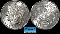 1896 Morgan Silver Dollar PCGS MS-64