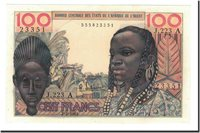 100 Francs West African States Banknote, 1965-03-02, Km:101ae