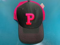 PRINCETON TIGERS Ouray Sports NCAA GRAY NEON PINK Snapback Truckers Hat Cap