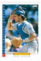 Mike Piazza Baseball Card Los Angeles Dodgers New York Mets Legend 1993 Score 286 Rookie Card