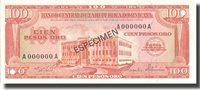 100 Pesos Oro Dominican Republic Banknote, 1975-76, Km:113s2