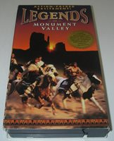 VHS Tape Action Legends of Mounment Valley NP Navajo Kit Carson