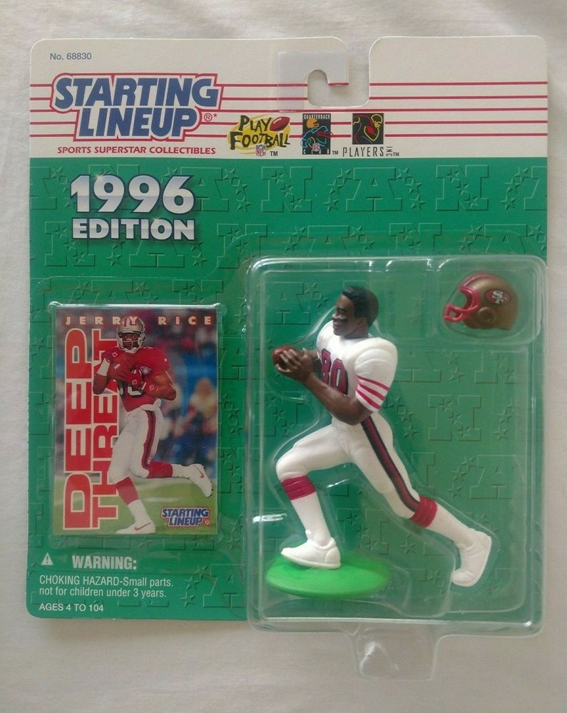 Spielzeug Starting Lineup 1996 Nfl Jerry Rice San Francisco 49ers Figurine And Card Triadecont Com Br