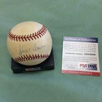 Sports Memorabilia PSA/DNA Authentic Memorabilia Autographed Signed Autograph Hank Aaron Auto Rawlings Nl Baseball BallCUSTOM FRAME YOUR JERSEY
