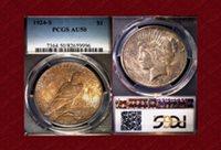 1924-S Peace $1 AU50 PCGS