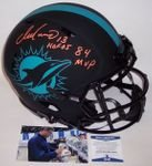 Dan Marino - Autographed Official Full Size Riddell Speed Eclipse Authentic Proline Football Helmet - Miami Dolphins - BAS Beckett Authentication