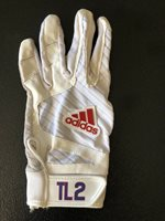 CHICAGO CUBS TOMMY La STELLA GAME USED BATTING GLOVE FROM 2018 SEASON