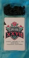 Super Bowl XXVII Rose Bowl AM Radio - From 1993 - NEW Old Stock..