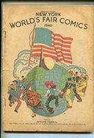 New York World's Fair -1940-Superman-Batman-Hourman-Sandman--Pr/Fr | Comic Books - Golden Age, DC Comics, Superhero