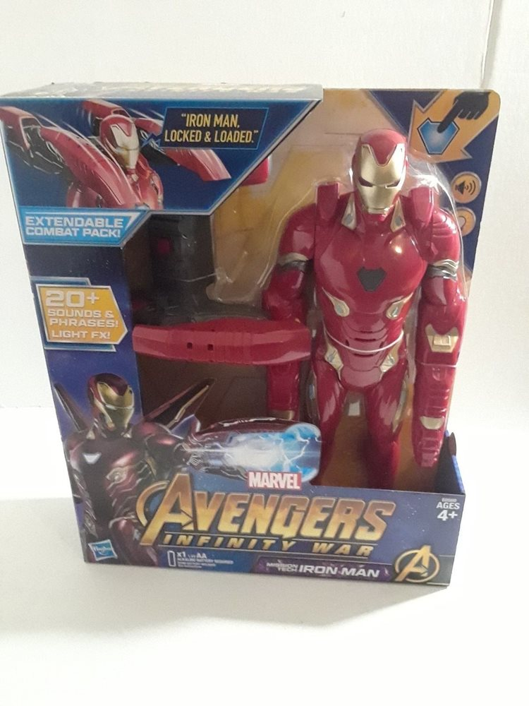 Marvel Avengers Infinity War Mission Tech Iron Man Figure