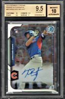 KRIS BRYANT 2017 BOWMAN CHROME AUTO AUTOGRAPH ROOKIE RC BGS 9.5/10 *ON FIRE*