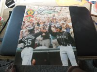 "2000 Seattle Mariners June Issue 3 ""The Grand Slam"" Program and Scorecard, Nice"