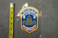 METROPOLITAN POLICE DISTRICT OF COLUMBIA JUSTITIA OMNIBUS COLLECTOR PATCH