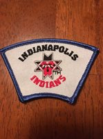 """Crossroads of America Council Indianapolis Indians Event Part Of 3"""" ID Set"""