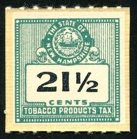 SRS NH T120 1947-71 21 1/2c green mint, VF