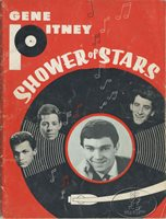GENE PITNEY THE CRYSTALS SHOWER STARS 1965 Tour Concert Program Tour Book