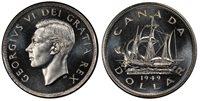 1949 Canada/Newfoundland Silver Dollar, MSPL – 66+ 1949 Canada/Newfoundland Silver Dollar, PCGS Secure Holder MSPL-66+. Looks Much Better!Pop. 1 in 66+.