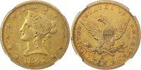 1847-O $10 NGC XF40