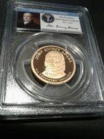 2008-S John Quincy Adams 6th President/Signature Series Dollar PCGS PR69DCAM