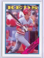 2017 Topps Rediscover buyback bronze 1988 Terry Francona Reds