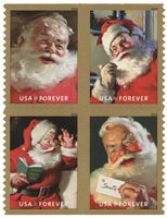 #5332-35 – 2018 First-Class Forever Stamp - Sparkling Holidays