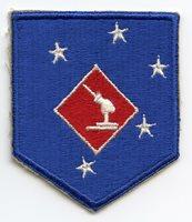 US Marine Amphibious Corps (MAC) Coastal Defense Battalions Patch with Variant Anti-Aircraft Gun