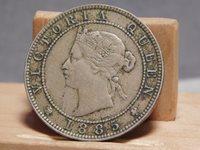Jamaica one penny 1885