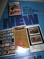 "U S Stamp POSTER,""STAMPS AND STORIES"" ,Aug. 1977, 24"" x 36"", ORIGINAL POSTER"