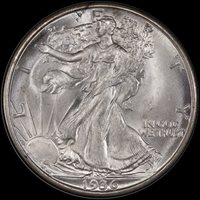 50C 1936-D PCGS MS67 EX GERALD FORSYTHE COLLECTION