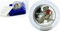 Transdnistria Transnistria 10 rubles Soviet Spartakiads series Sprint Runners silver coin 2007