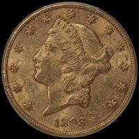 $20.00 - 1893-CC PCGS MS60