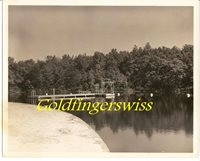 "Crossville, Tennessee,CUMBERLAND MOUNTAIN STATE PARK-SAND BEACH 1950 - 8""X10"",#C"
