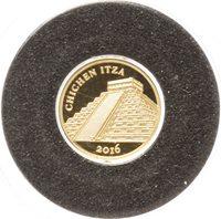Mali 100 Francs gold 2016 Chichen Itza