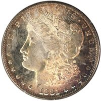1881-S $1 Morgan Dollar PCGS MS65