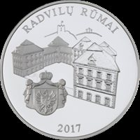 PROOF 2017 Lithuania 20 Euro Silver Coin Radziwiłł Palace
