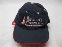 Vintage UVM University of Vermont 2002 Commencement Burlington Hat Cap Baseball