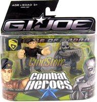 Hawk vs Cobra Viper - G.I. Joe Movie The Rise Of Cobra Action Figure by Hasbro Toys Combat Heroes Wave 1