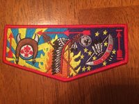 OA TAKACHSIN LODGE 173 FLAP ISSUED IN 2014 Sagamore Council