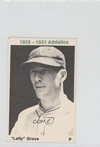 Lefty Grove Lefty Grove Baseball Card 1974 Tcma 1929 31 Philadelphia Athletics Legr