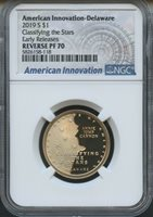"2019 W First /""W/"" Mint Mark Cent Early Releases NGC PF69 RD Ultra Cameo Blue"